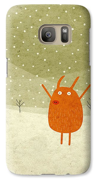 Pigs And Bunnies Galaxy S7 Case by Fuzzorama