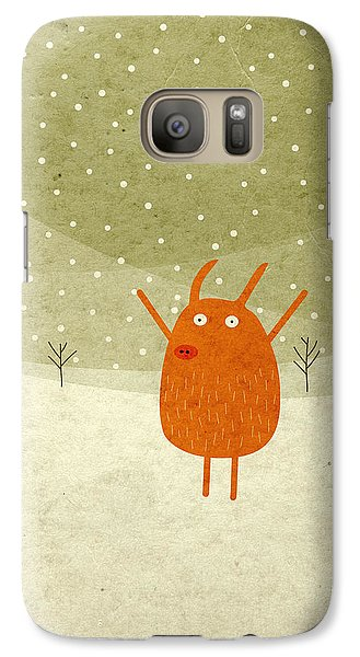 Pigs And Bunnies Galaxy S7 Case