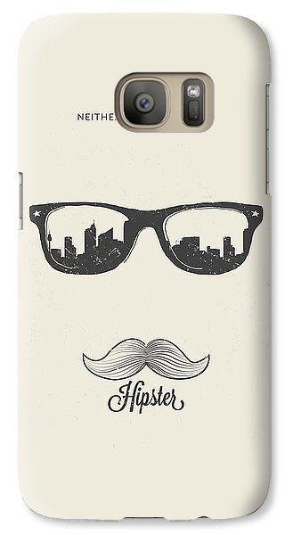 Hipster Neither Lost Nor Found Galaxy Case by BONB Creative