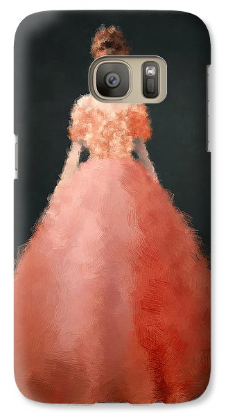 Galaxy Case featuring the digital art Melody by Nancy Levan