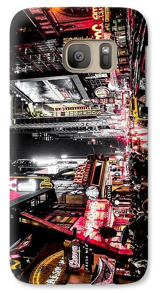 New York City Night II Galaxy S7 Case by Nicklas Gustafsson