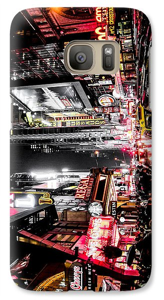 Galaxy Case featuring the photograph New York City Night II by Nicklas Gustafsson