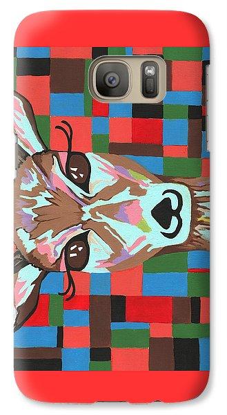 Galaxy Case featuring the painting Darling Deer by Kathleen Sartoris