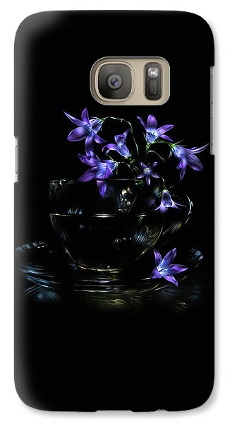 Galaxy Case featuring the photograph Bluebells by Alexey Kljatov