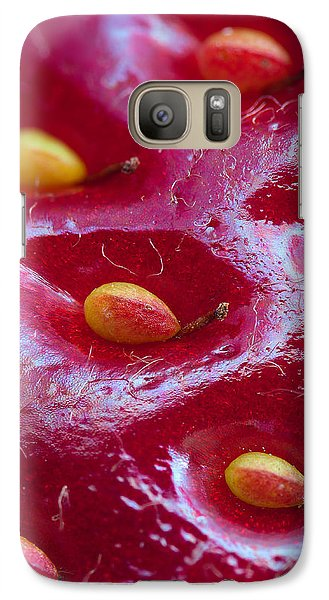 Galaxy Case featuring the photograph Strawberry Fields by Alexey Kljatov