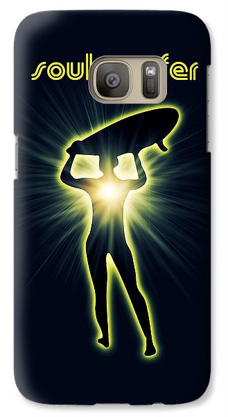 Venice Beach Galaxy S7 Case - Soul Surfer by Mark Ashkenazi