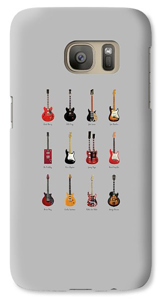 Guitar Icons No1 Galaxy Case by Mark Rogan
