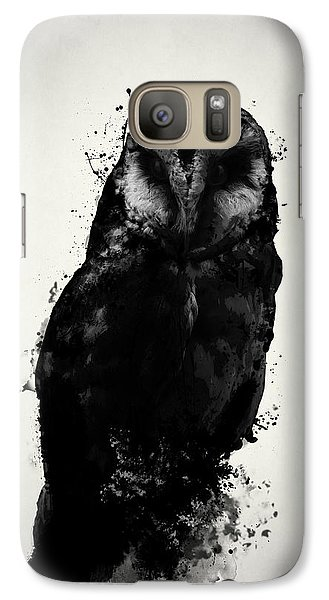 The Owl Galaxy S7 Case by Nicklas Gustafsson