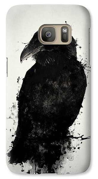 Raven Galaxy S7 Case - The Raven by Nicklas Gustafsson