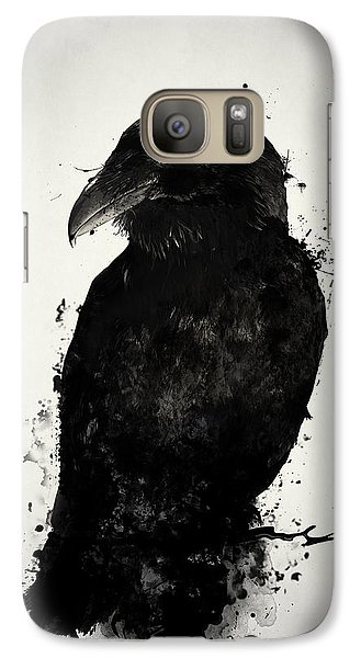 Galaxy Case featuring the photograph The Raven by Nicklas Gustafsson