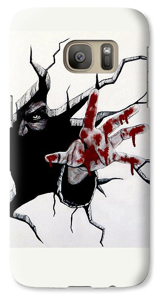 The Demon Inside Galaxy S7 Case
