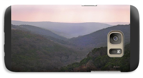 Galaxy Case featuring the photograph Rolling Hill Country by Felipe Adan Lerma