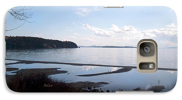 Galaxy Case featuring the photograph Rock Point North View Horizontal by Felipe Adan Lerma