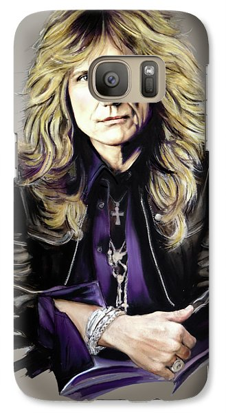 David Coverdale Galaxy S7 Case by Melanie D