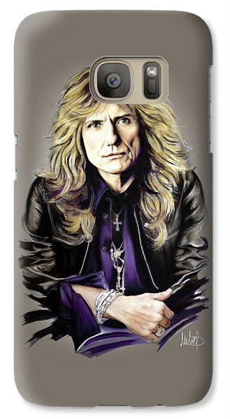 David Coverdale Galaxy Case by Melanie D
