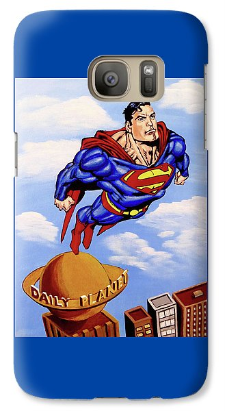 Superman Galaxy S7 Case by Teresa Wing