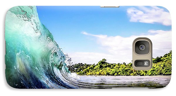 Galaxy Case featuring the photograph Tropical Wave by Nicklas Gustafsson