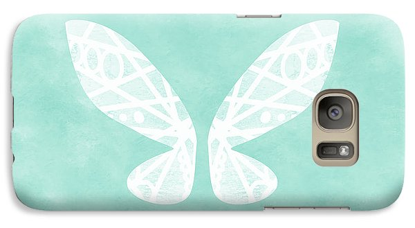 Fairy Galaxy S7 Case - Fairy Wings- Art By Linda Woods by Linda Woods