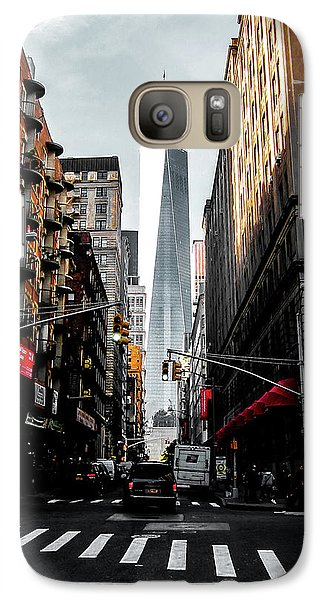 Galaxy Case featuring the photograph Lower Manhattan One Wtc by Nicklas Gustafsson