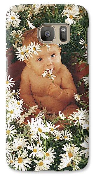 Daisy Galaxy S7 Case - Daisies by Anne Geddes
