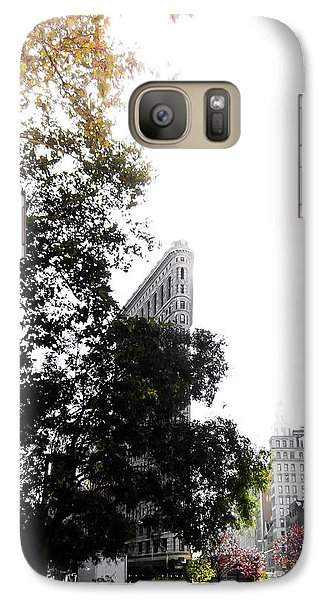 Galaxy Case featuring the photograph Flatiron Autumn  by Nicklas Gustafsson