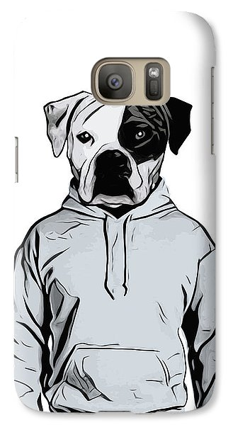 Galaxy Case featuring the painting Cool Dog by Nicklas Gustafsson