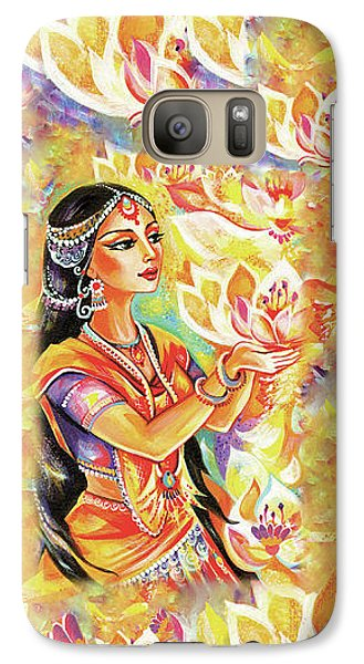 Pray Of The Lotus River Galaxy S7 Case