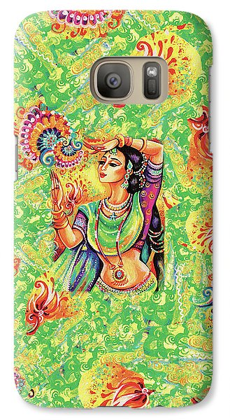 Galaxy S7 Case featuring the painting The Dance Of Tara by Eva Campbell