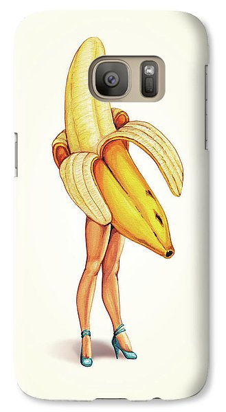 Fruit Stand - Banana Galaxy Case by Kelly Gilleran