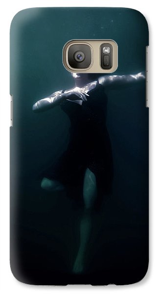 Galaxy Case featuring the photograph Dancing Under The Water by Nicklas Gustafsson