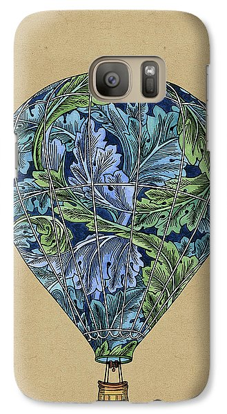 Galaxy Case featuring the painting Flight Pattern by Meg Shearer