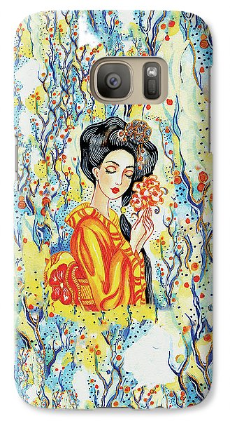Galaxy S7 Case featuring the painting Harmony by Eva Campbell