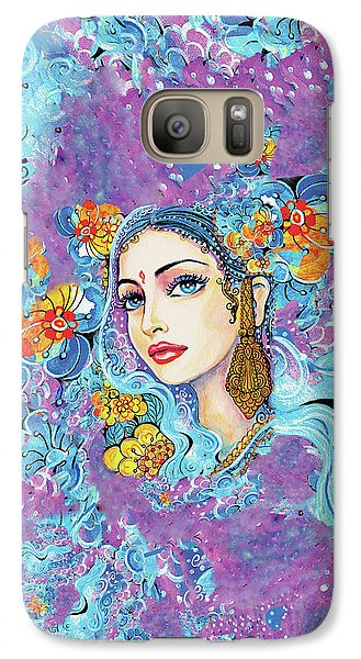 Galaxy Case featuring the painting The Veil Of Aish by Eva Campbell