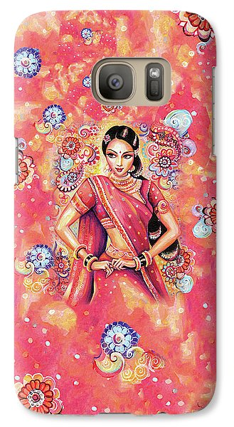 Galaxy S7 Case featuring the painting Devika Dance by Eva Campbell