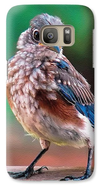 Galaxy Case featuring the photograph I'm New Around Here by Sue Melvin