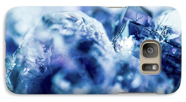 Galaxy Case featuring the photograph Amethyst Blue by Sharon Mau