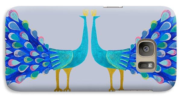 Pretty As A Peacock Galaxy S7 Case