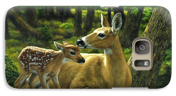 Whitetail Deer - First Spring Galaxy S7 Case