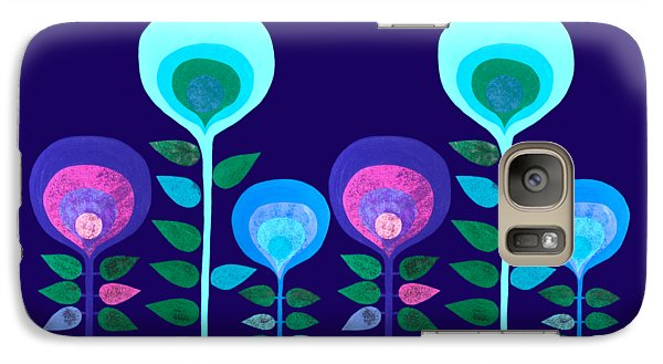 Space Flowers Galaxy S7 Case