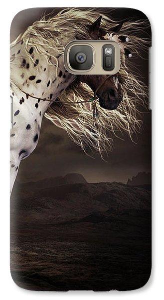 Horse Galaxy S7 Case - Leopard Appalossa by Shanina Conway