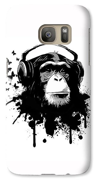 Monkey Business Galaxy Case by Nicklas Gustafsson