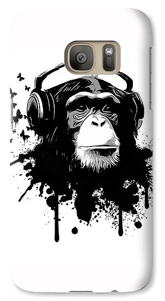 Monkey Business Galaxy S7 Case by Nicklas Gustafsson