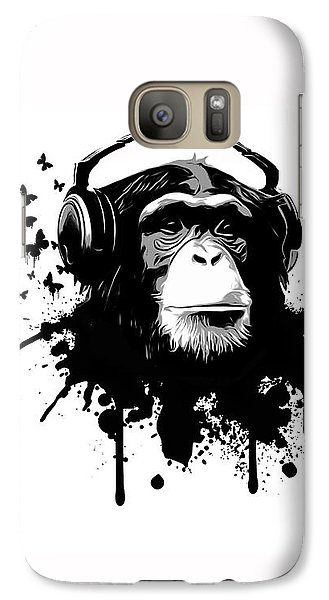 Galaxy S7 Case - Monkey Business by Nicklas Gustafsson