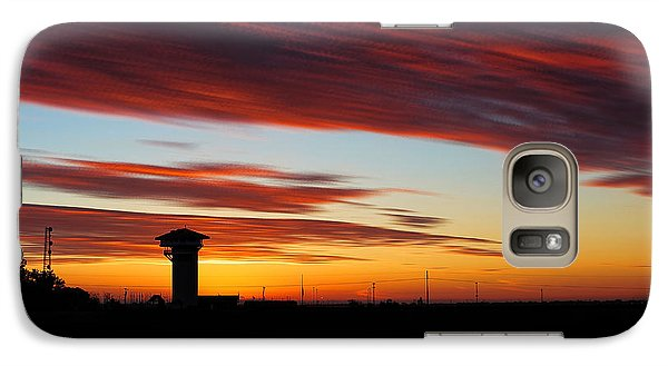 Galaxy Case featuring the photograph Sunrise Over Golden Spike Tower by Bill Kesler