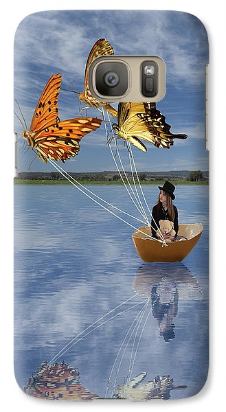 Butterfly Sailing Galaxy S7 Case