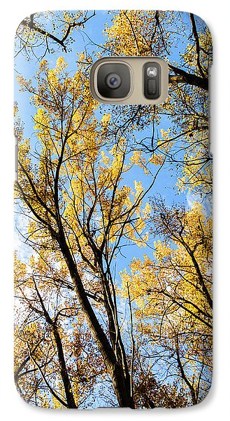 Galaxy Case featuring the photograph Looking Up by Bill Kesler