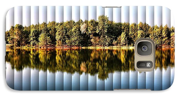 Galaxy Case featuring the photograph When Nature Reflects - The Slat Collection by Bill Kesler