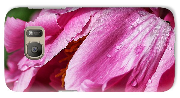 Galaxy Case featuring the photograph Pink Delight by Bill Kesler