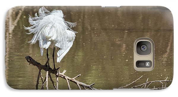 Galaxy Case featuring the photograph Fluff Time by Bill Kesler