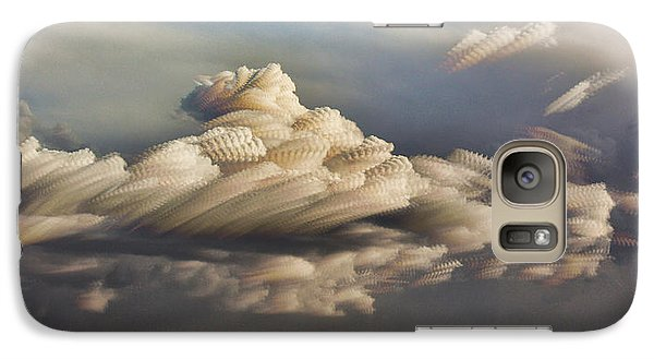 Galaxy Case featuring the photograph Cupcake In The Cloud by Bill Kesler